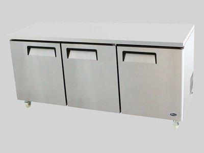 Atosa 72″ Undercounter Three Door Refrigerator