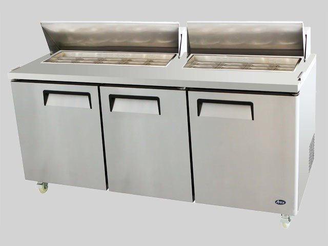 Atosa Three Door 72″ Sandwich Prep Table