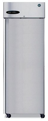 Hoshizaki One Door Stainless Steel Upright Freezer, Full Stainless Steel Door