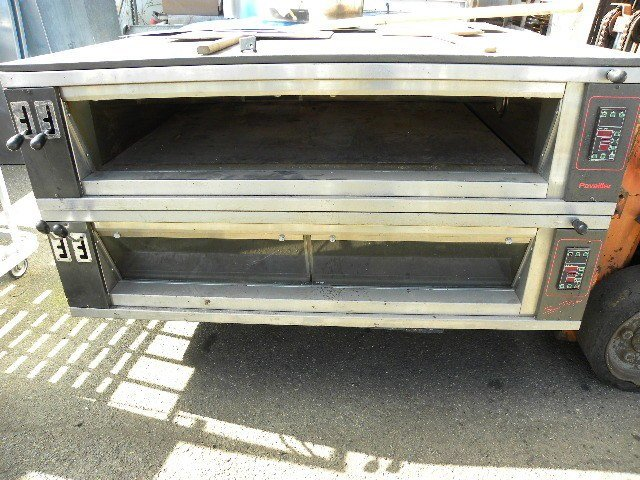 Pavallier Double Deck Electric Hearth Stone Lined Deck Ovens/Steam