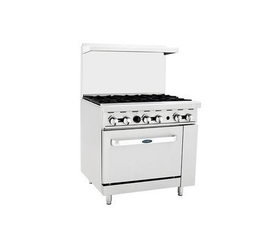 Atosa ATO-6B Gas Range (6) Burner With 26