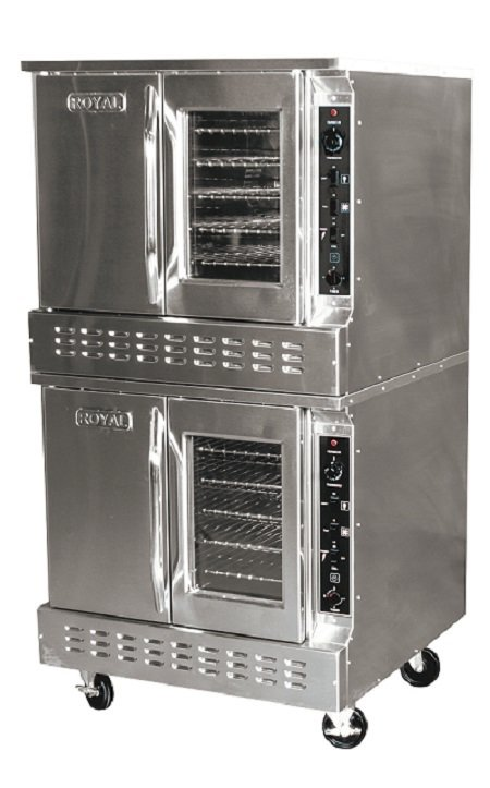 Commercial Convection Oven Double Stack Gas Standard Depth RCOS-2