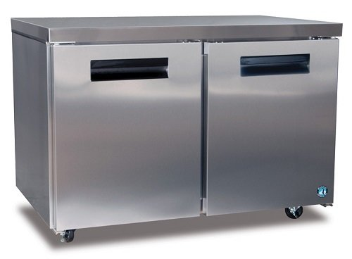 Hoshizaki CRMR48, Two Section Undercounter Refrigerator