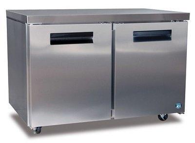 Hoshizaki CRMR48, Two Section Undercounter Refrigerator