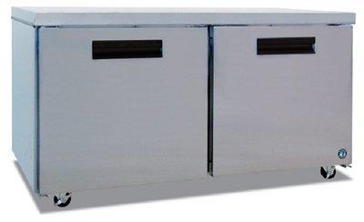 Hoshizaki CRMF60, Two Section Undercounter Freezer