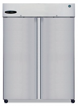 Hoshizaki CR2S-FS, Refrigerator, Two Section Upright, Full Stainless Door
