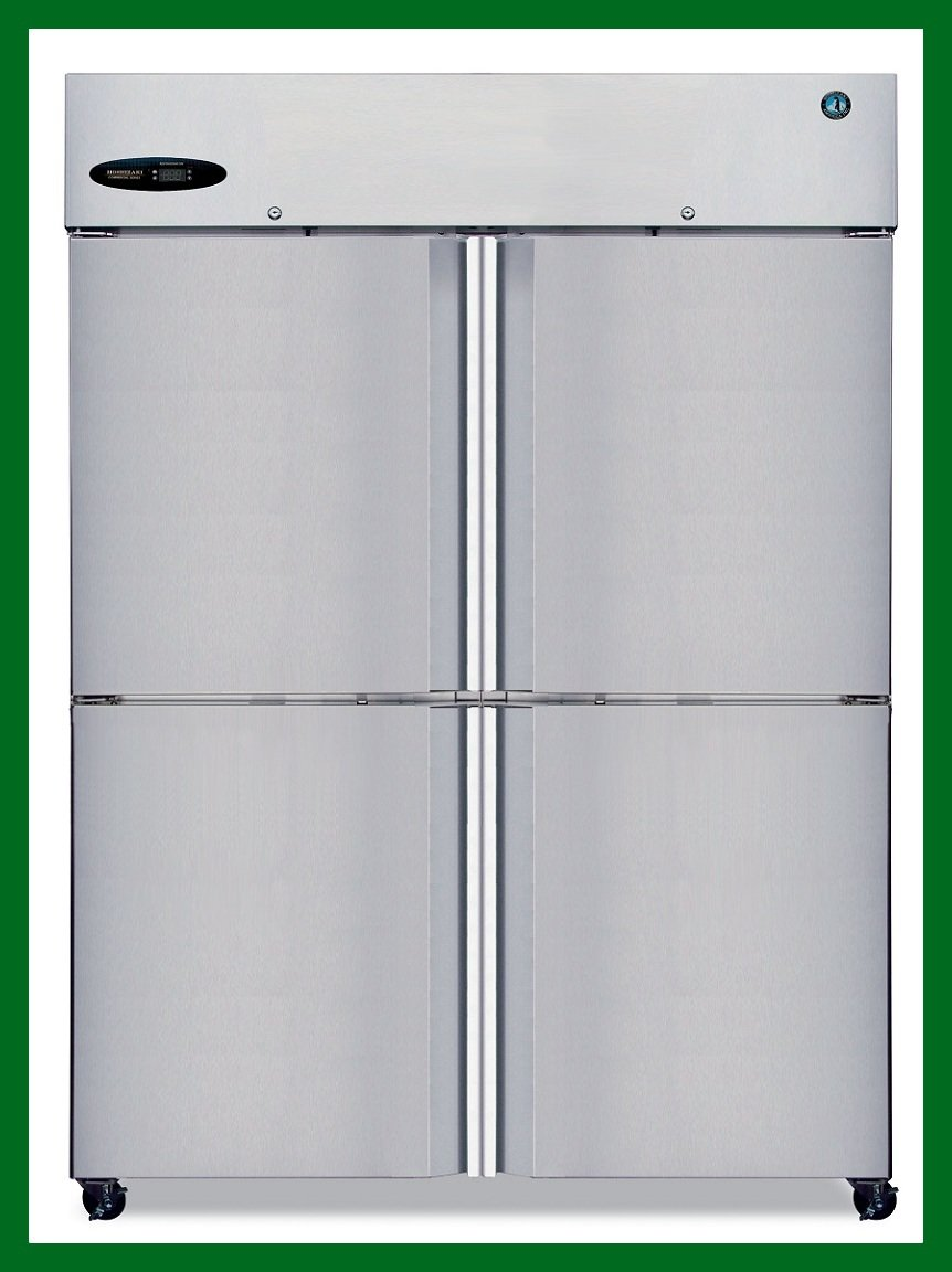 Hoshizaki CR2S-HS, Refrigerator, Two Section Upright, Half Stainless Door