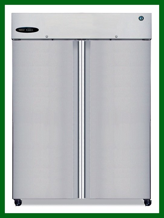 Hoshizaki CF2S-FS, Freezer, Two Section Upright, Full Stainless Door