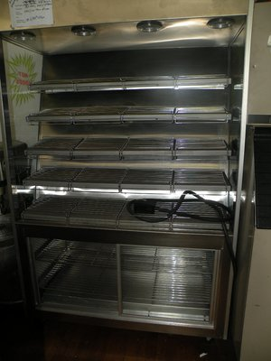 Super Systems Self service stainless steel hot GRAB & GO display, excellent condition