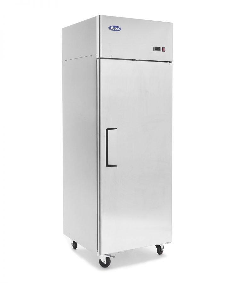 ATOSA Top Mount One Door Stainless Steel Freezer