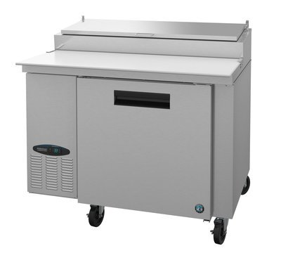 CPT46, Refrigerator, Single Section Pizza Prep Table, Stainless Door