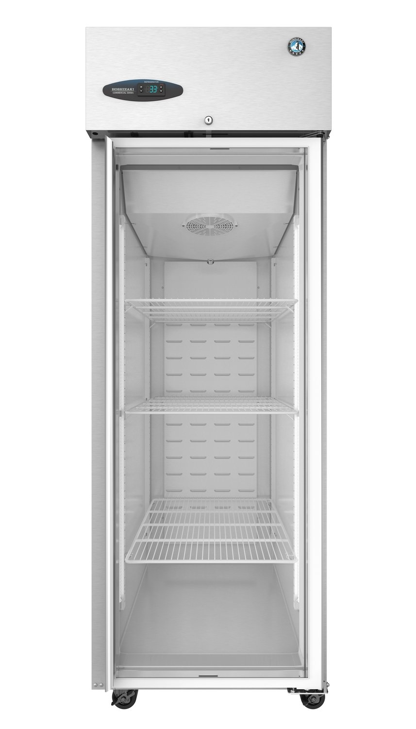 CF1S-FGE, Hoshizaki Freezer, Single Section Upright, Full Glass Door