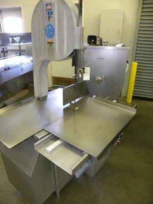 Biro 3334, 3HP, 3 phase USA MADE HD Meat Saw.