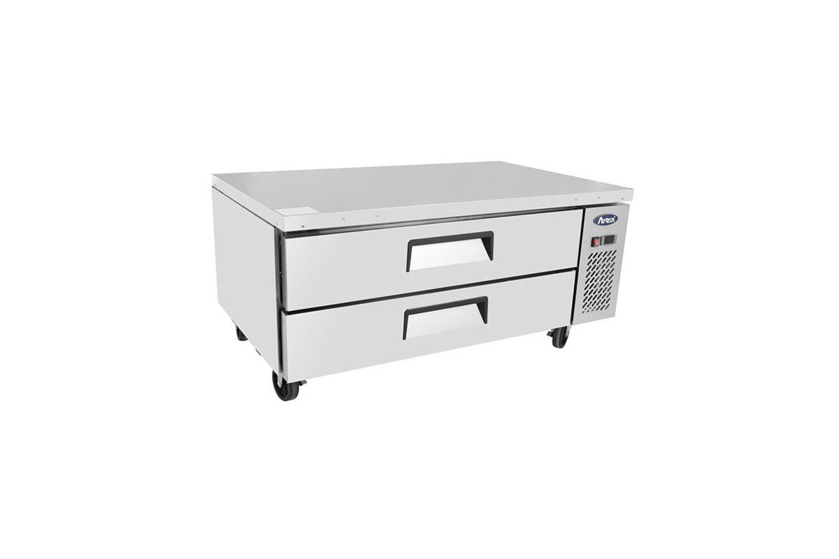 ATOSA 60″ EXTENDED TOP CHEF BASE, TWO DRAWERS, MGF8452