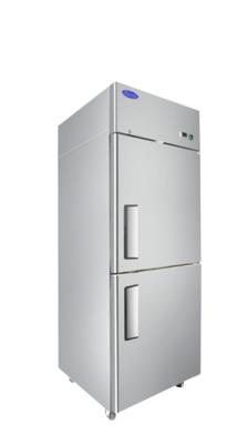 Atosa MBF8010GR Top Mount Refrigerator ½ door, Two Divided Door