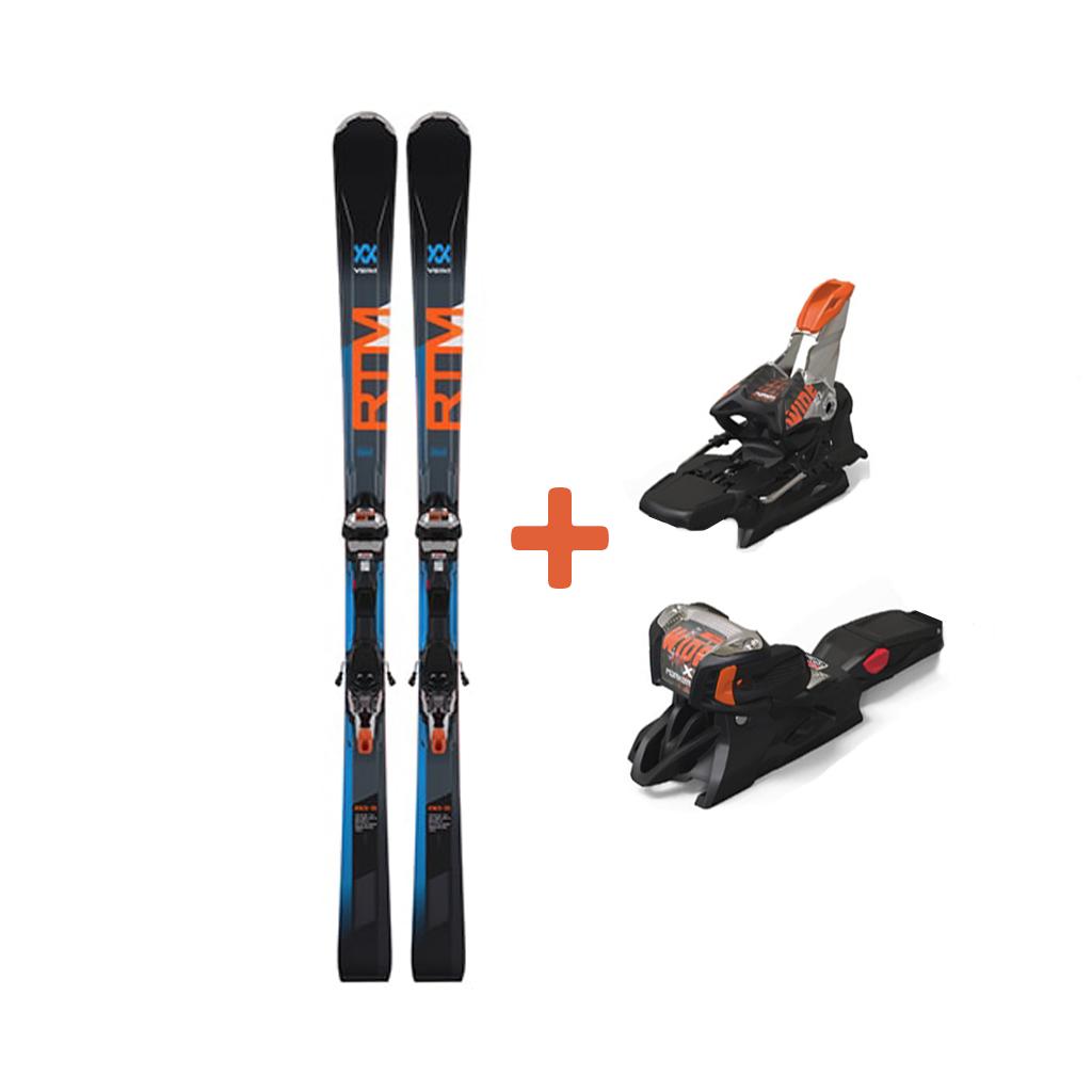 Volkl RTM 79 Skis + iPT Wideride XL 12 TCX GW Orange Bindings