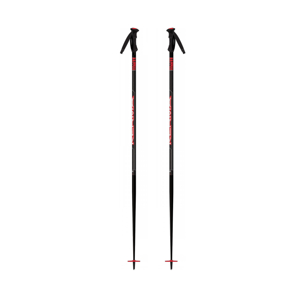 Kerma Vector Ski Poles/Black-Red