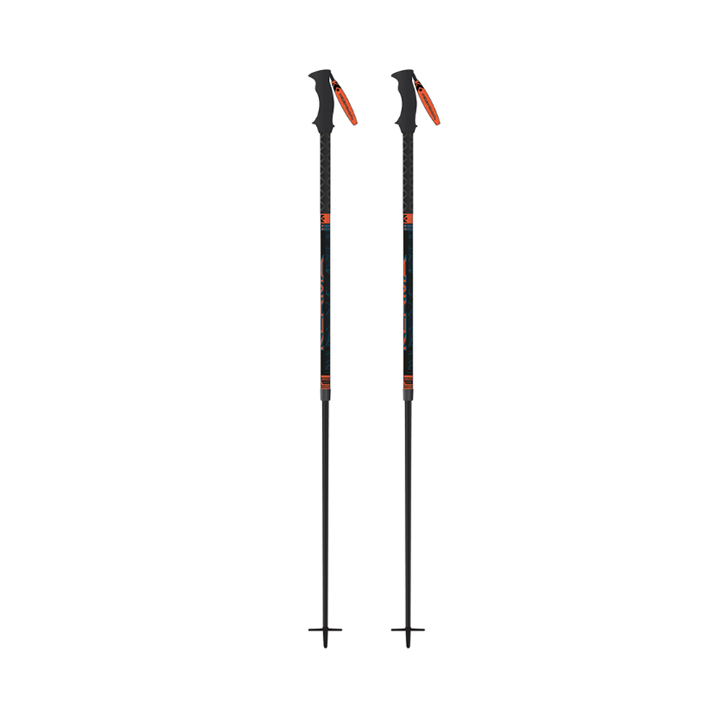 Kerma Mythic Telescopic Safety Ski Poles