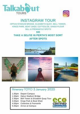Toyo Private Instagram Tour - Half Day