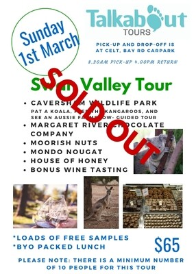 Swan Valley Tour