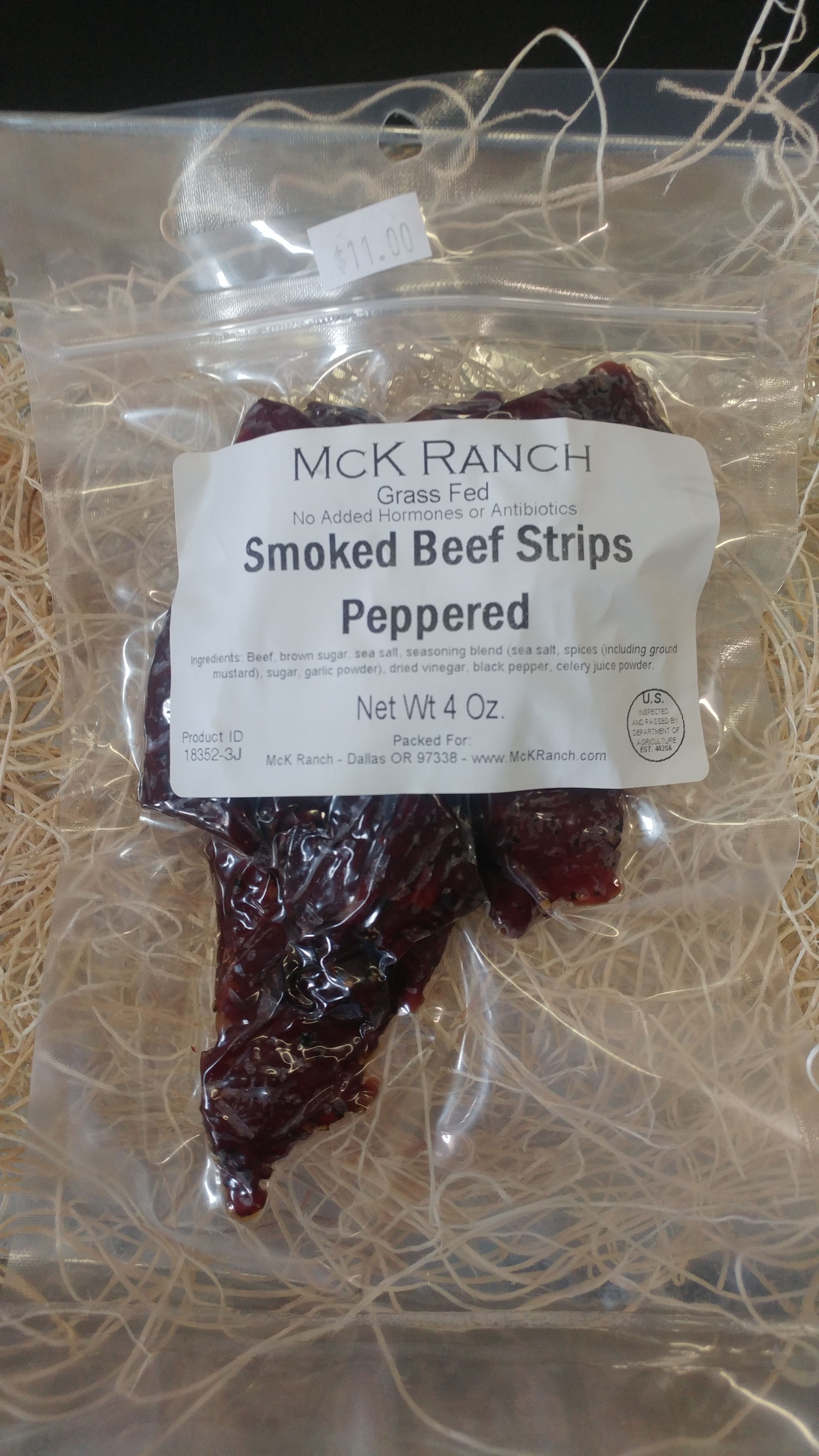 Peppered Smoked Beef Strips 00008