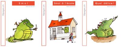 3 livres : SMOL et LUCIOLE niveau ROUGE A