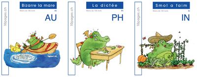 3 livres : SMOL et LUCIOLE niveau BLEU FONCE C
