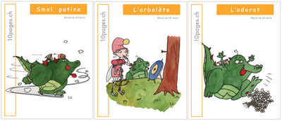 3 livres : SMOL et LUCIOLE niveau ORANGE C