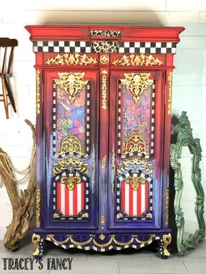 Whimsical Gypsy Armoire