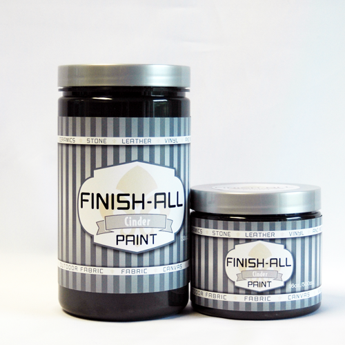 Finish All Paint in Cinder / Black 00108