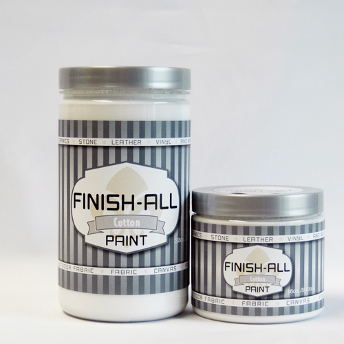 Finish All Paint in Cotton / Bright White 00109