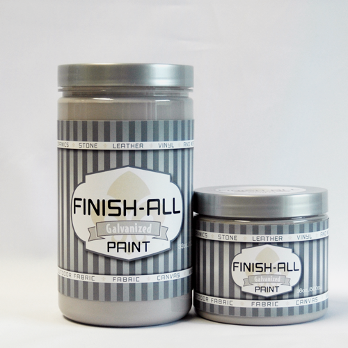 Finish All Paint in Galvanized / Warm Gray 00112