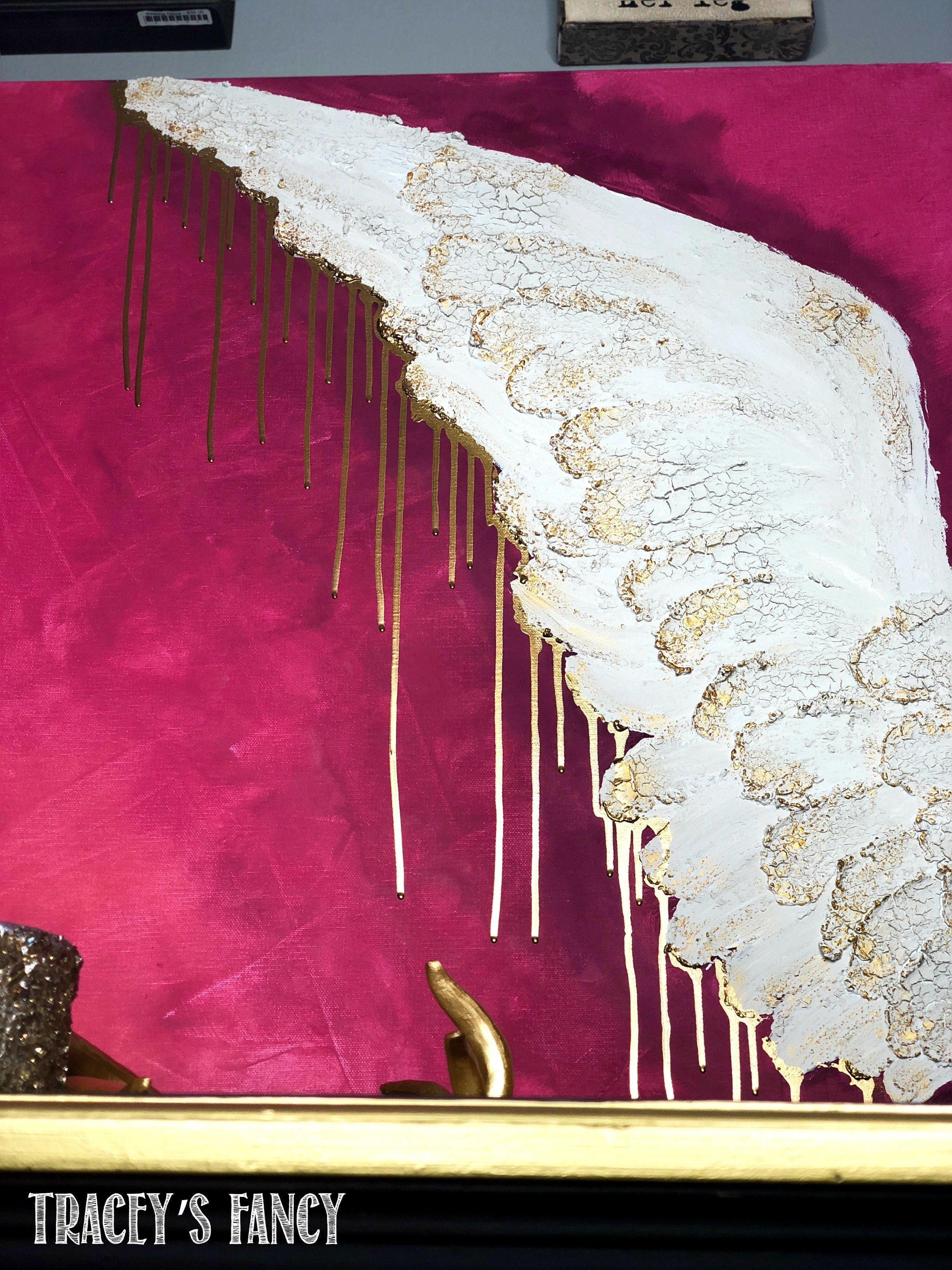 The Art of Hand-Painted Angel Wings