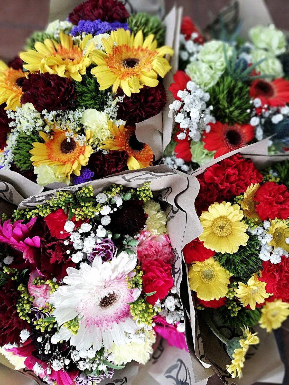 Bouquet Flores Grande - 4, 8 y 12 semanas