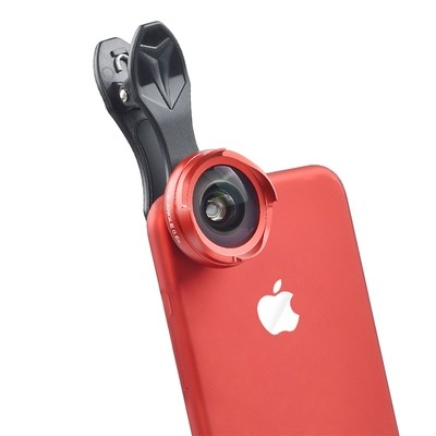 APEXEL 2in1 4k HD Professional 0.6x Wide Angle + 10x Macro Phone Lens