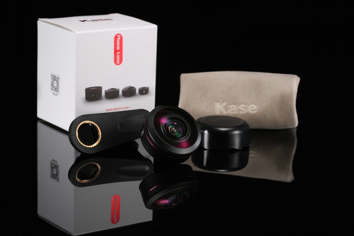 Kase 238 Degree Super Fisheye Phone Lens [Full frame]