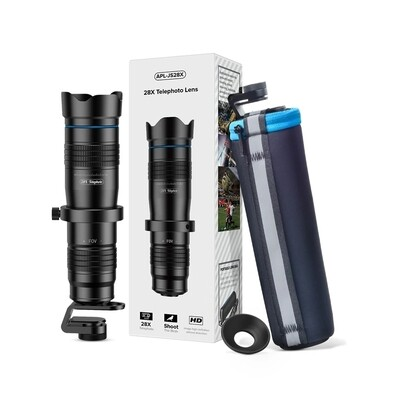 APEXEL 28X Super Zoom Lens (telescopic/ tele/ monocular) [New 2019]