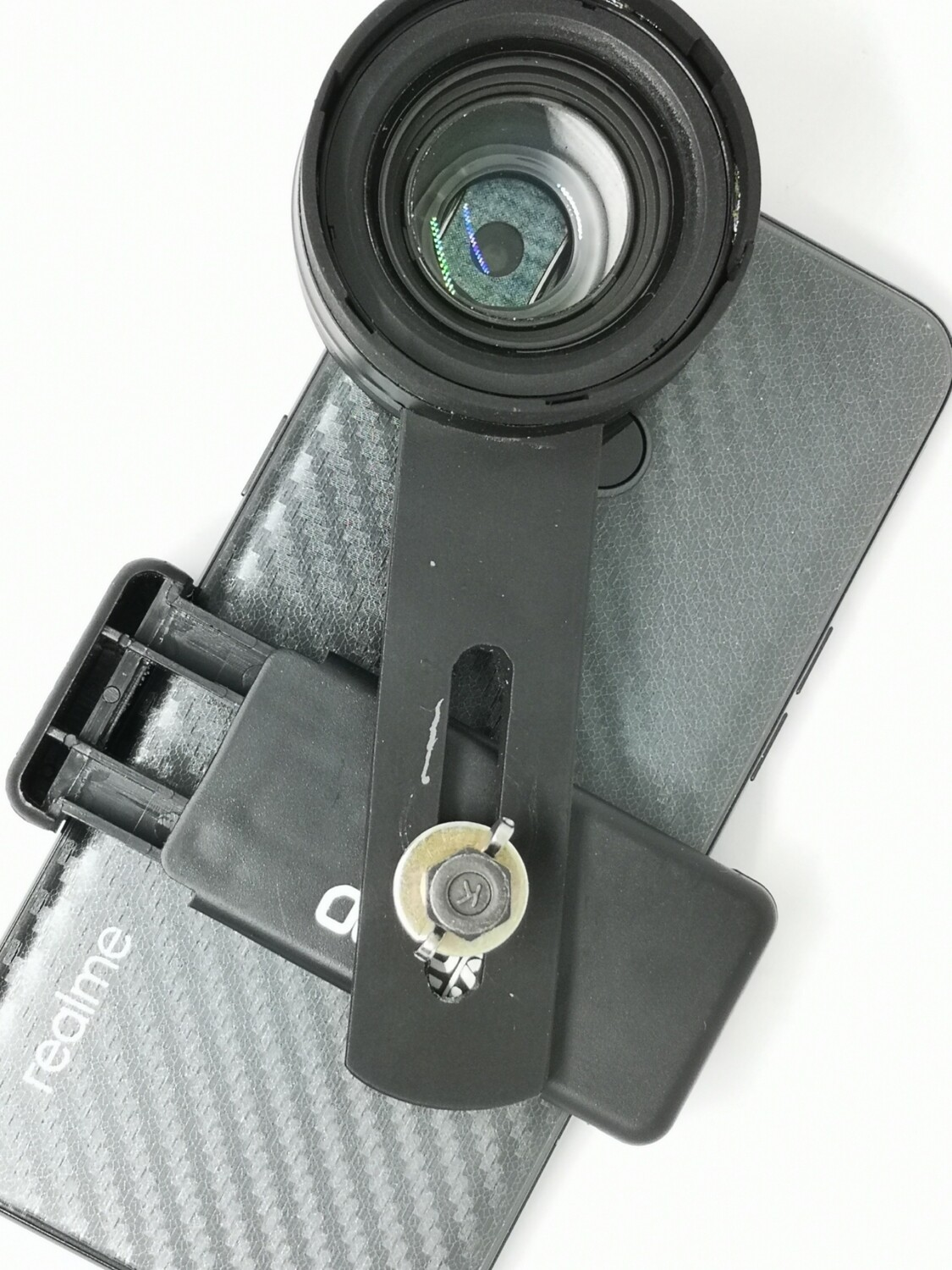 [New] Prosumer 4.0cm Indo Variable Magnification 2in1 Zoom & Macro Phone Lens Made from DSLR Glass (PIM1)