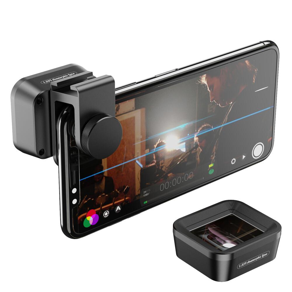 [Prebook] Apexel 1.33x 4K Anamorphic Movie Film Phone Lens
