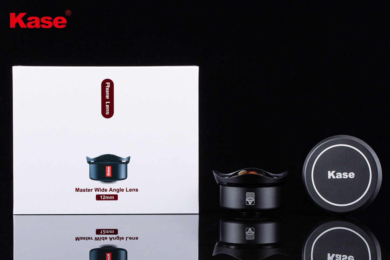 Kase 12mm 220 degree Super Wide Angle Phone Lens [New 2019]