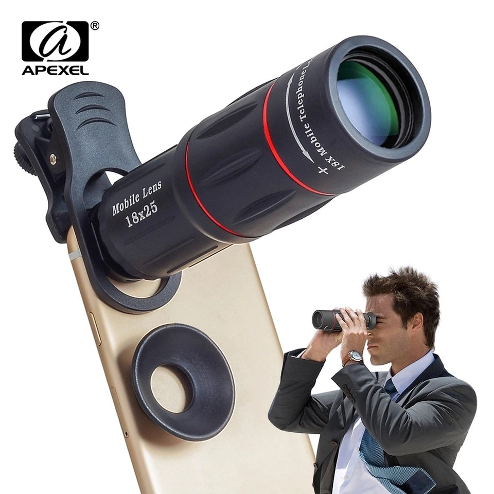 [Prebook] Apexel 18x Super Zoom Telephoto Telescopic Phone Lens