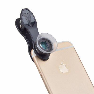 [Prebooking on 20 April] Apexel 2in1 12x+24x Super Macro Phone Lens
