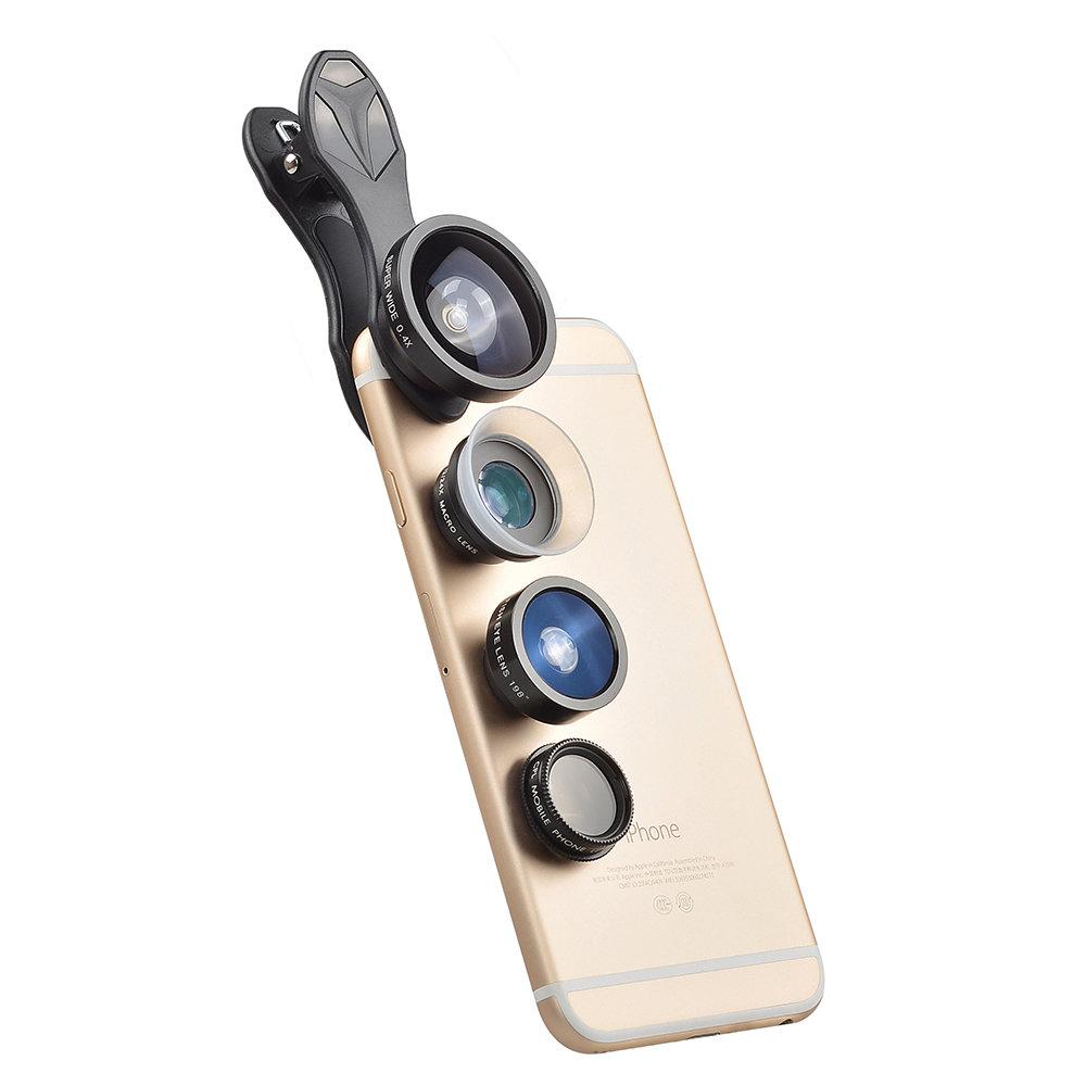 [Prebook] Apexel 5 in 1 (New) Phone Lens Combo Pack (includes 12x-24x Macro Lens)