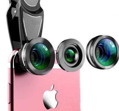 Liginn 3 in 1 HD Phone Lens Combo Pack