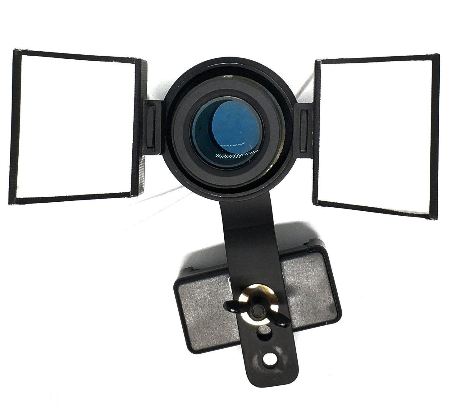 Indo Dual LED Flash Light for Phone Compatible with Prosumer Macro Lens