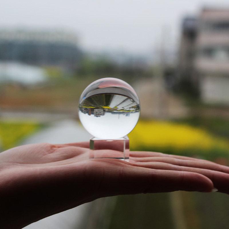 Lens Ball 40mm (4cm) K9 Crystal + Base
