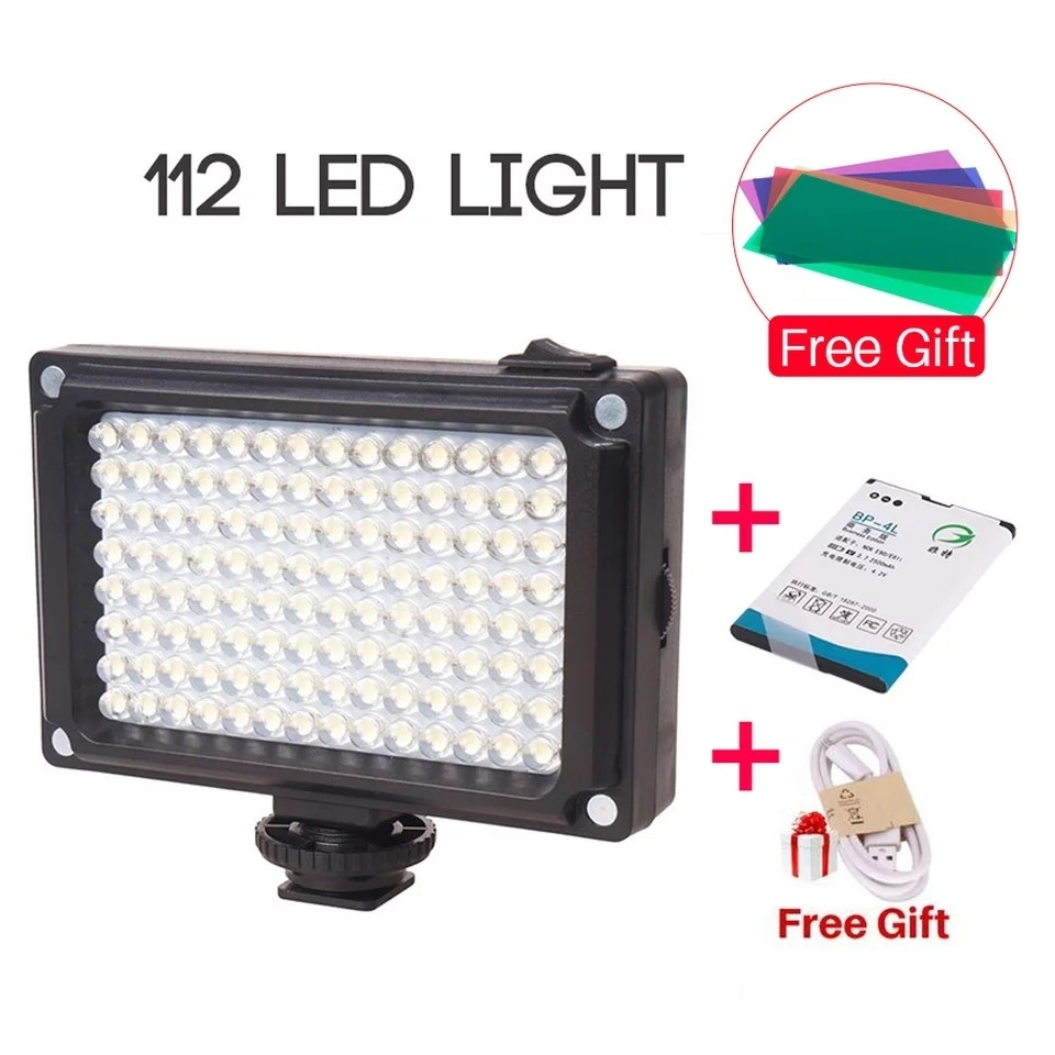 Rechargeable 122 LED Studio Lighting For Video and Photo shoot [New]
