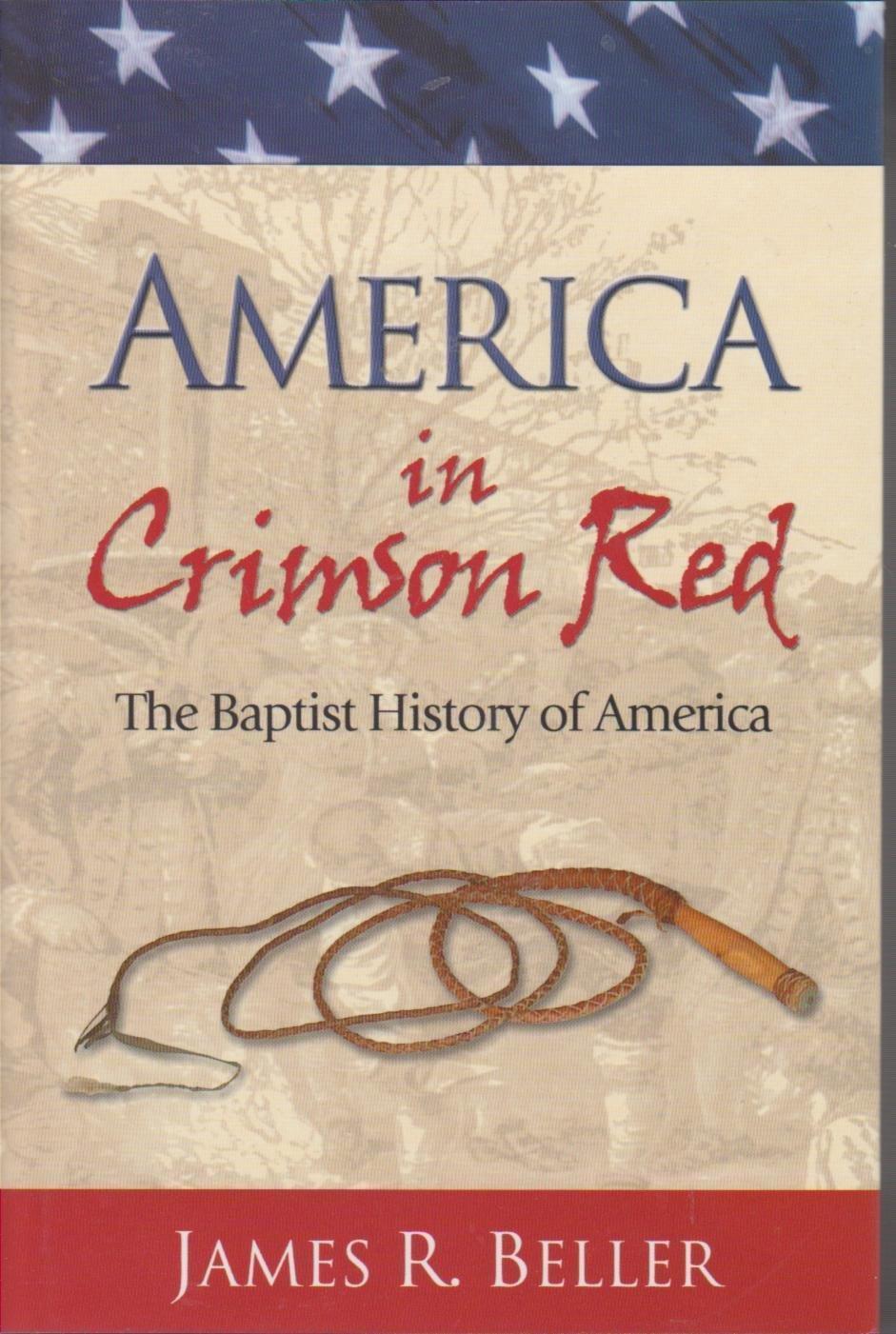 America in Crimson Red by James R. Beller