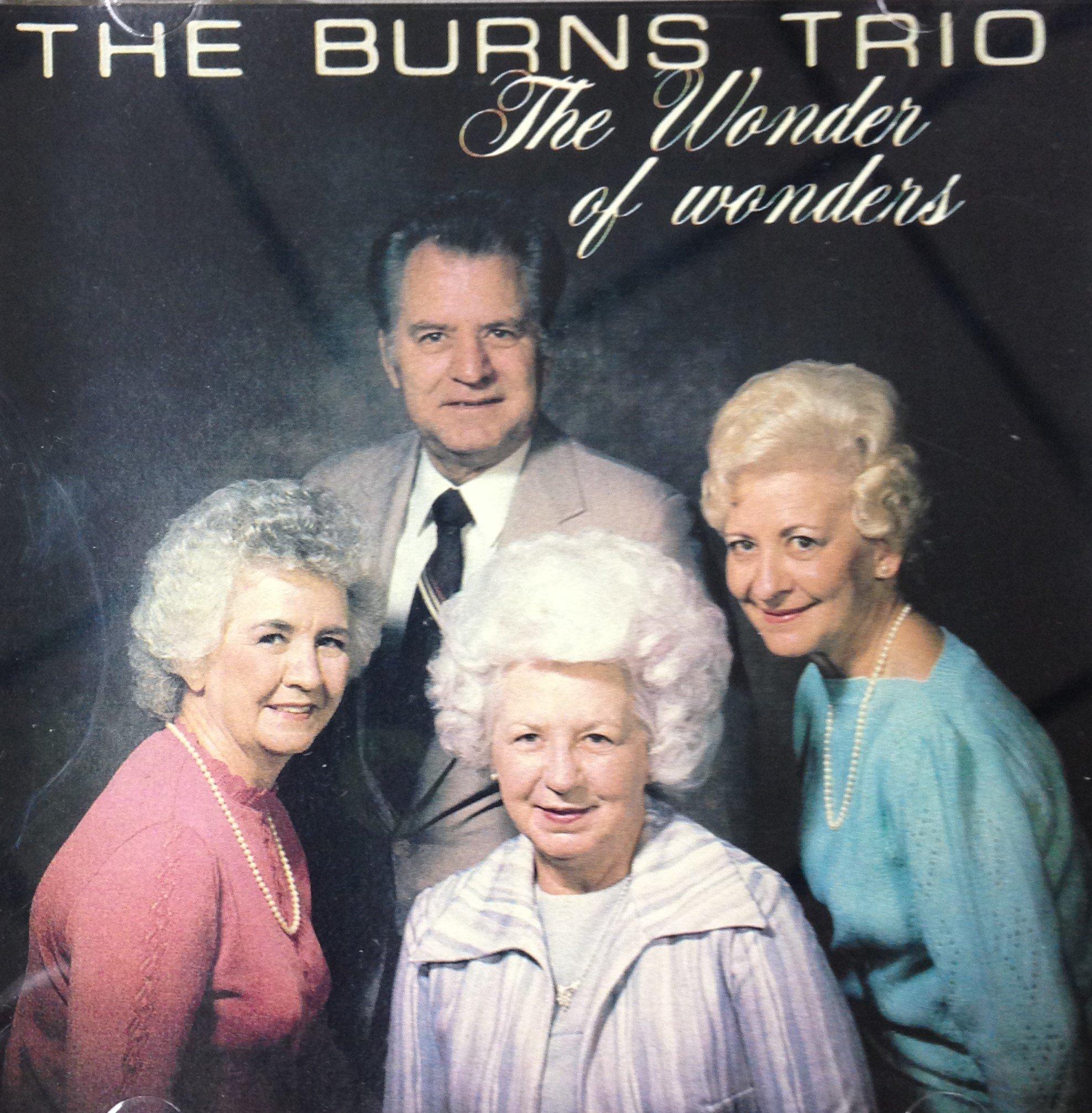 The Burns Trio:  The Wonder of Wonders  CD 00037