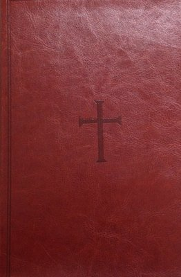 Giant Print Reference Bible KJV:  Brown Leather Touch